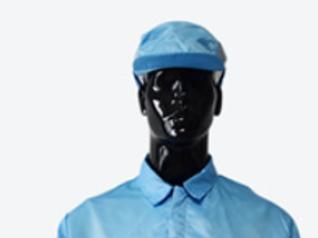 Cleanroom Man Cap, Sky Blue