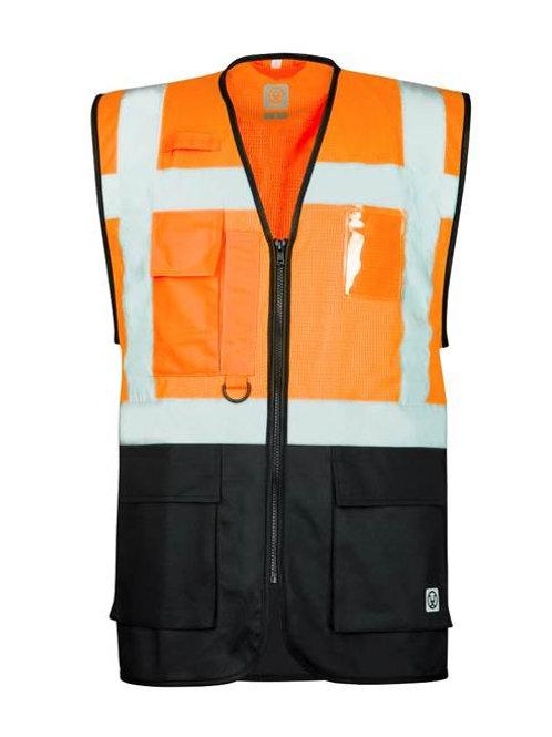 Mesh manager vest, Orange