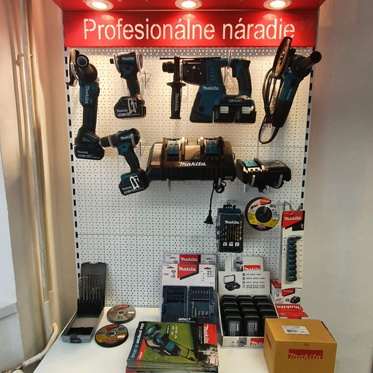 JM Euro Makita display