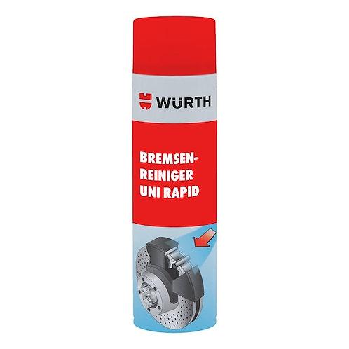UNI RAPID BRAKE CLEANER_WURTH 500ML