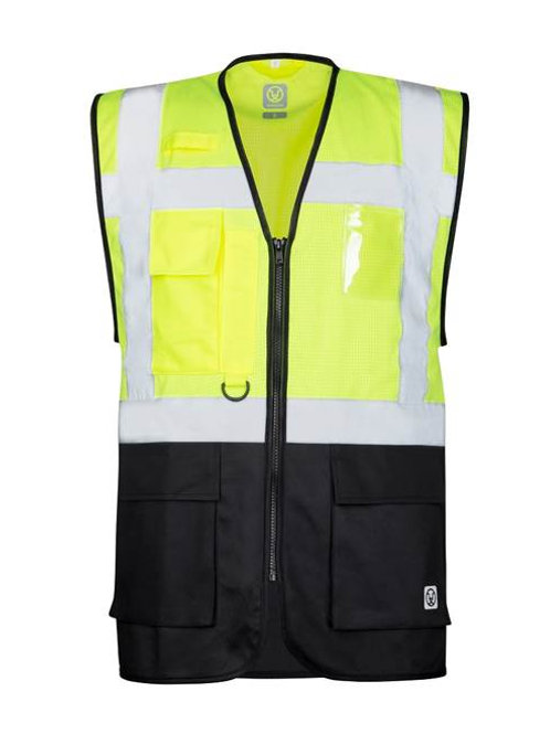 Mesh manager vest, Yellow