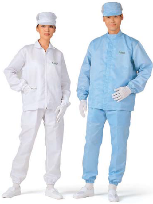Cleanroom Jacket & Pants SkyBlue_KM