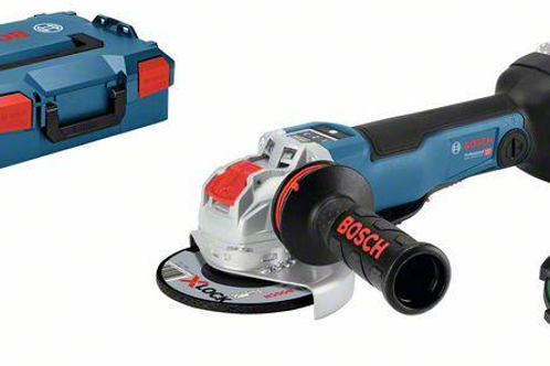 Cordless angle grinder with X-LOCK_BOSCH