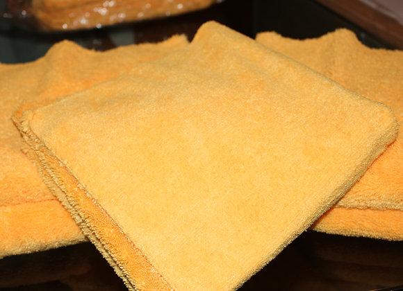 Yellow Zero Crazy Microfiber Towels 5pack