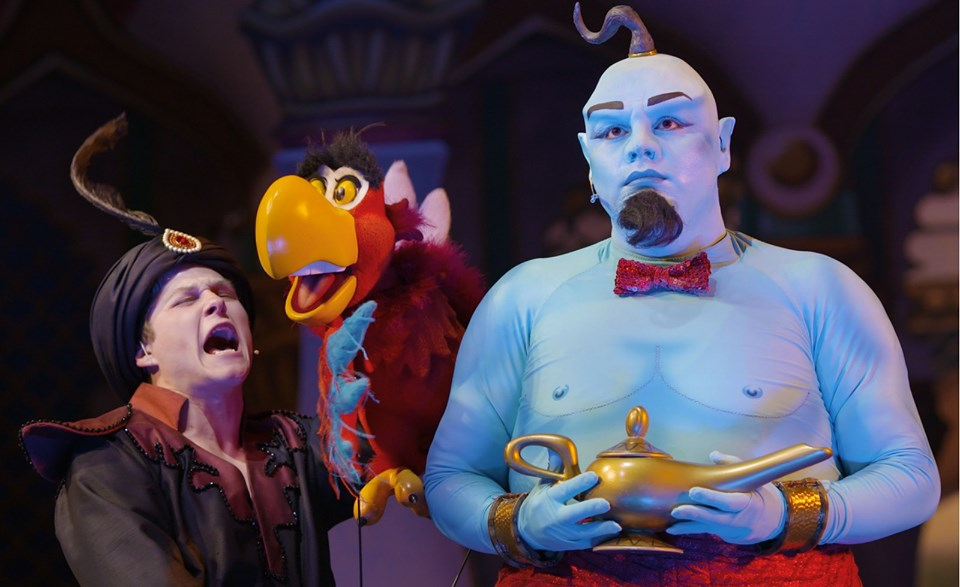 Iago and Genie Pic