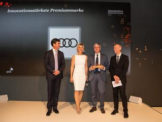 Audi é a marca mais inovadora segundo o 'Automotive Innovations Award 2017'