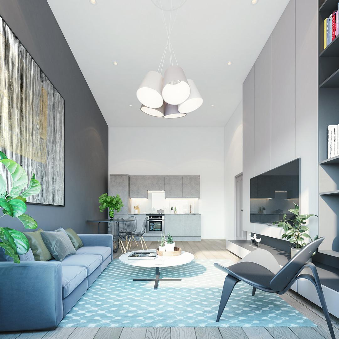Flat 2-01_living room_high ceiling_02.jp