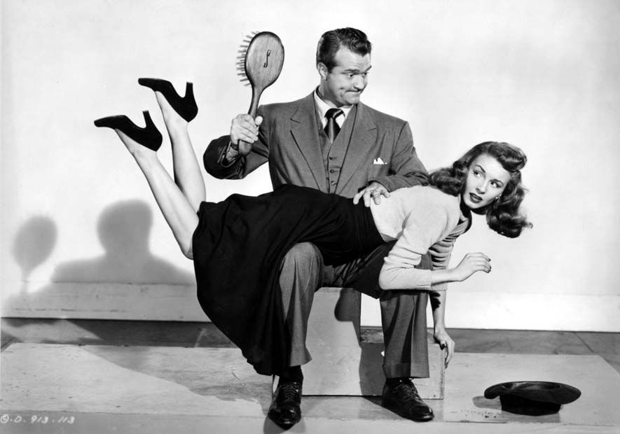 Red Skelton as The Fuller Brush Man