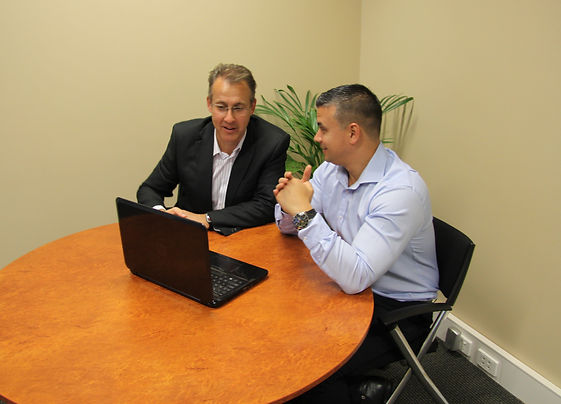 ERP Consultant shows ERP services overview