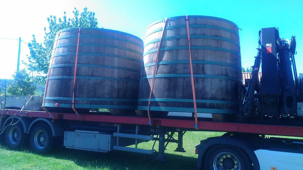 Tonneaux à vin pour Habitations