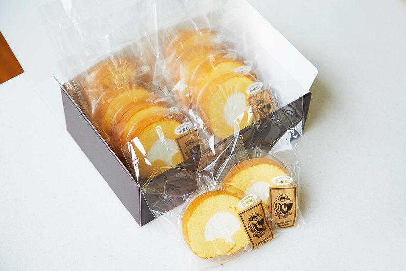 信州産ソルガムロールケーキ 10ピース