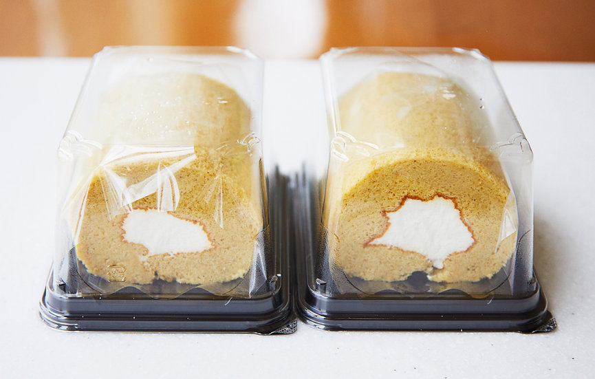 信州産ソルガムロールケーキ ハーフサイズ2個セット
