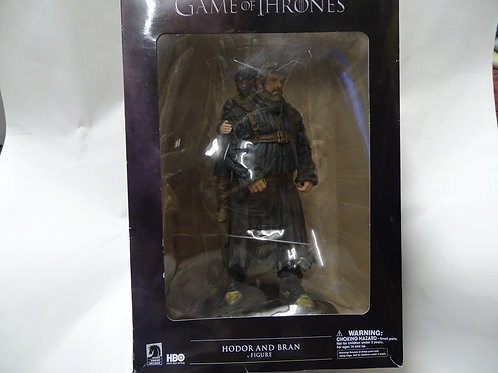 Game of Thrones 'Hodor and Bran' figures.