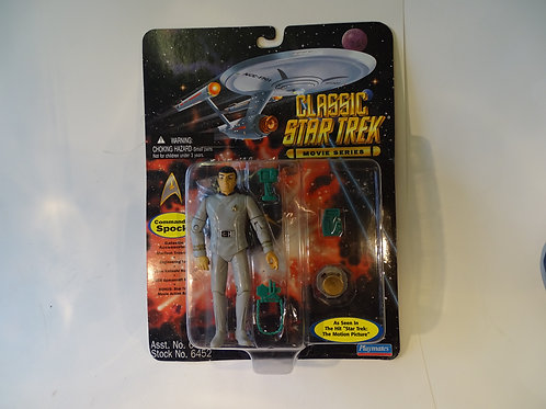 """Commander Spock 5"""" poseable figure by Bandai Playmates"""