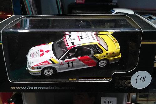 Ixo Mitsubishi Galant rally car