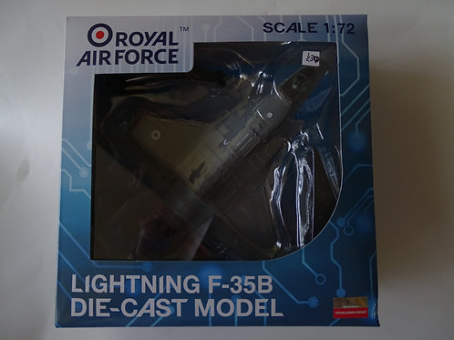 Royal Air Force Lightning F35B diecast 1:72 model