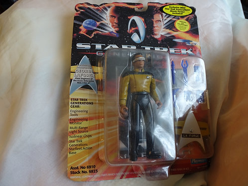 Geordi La Forge 'Generations' figure