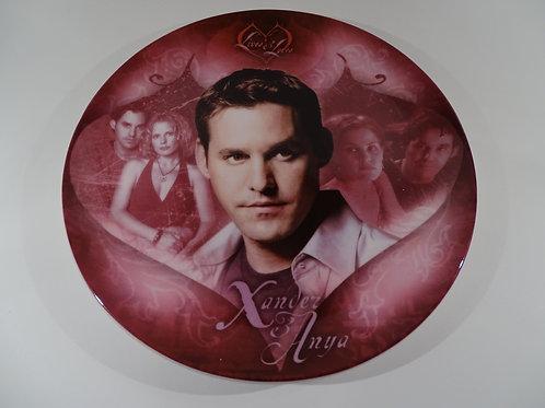 Buffy the Vampire Slayer, Xander & Anya plate, Limited Edition