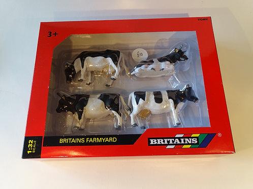 Britains Farmyard figures - Cows