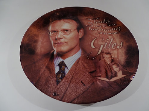 Buffy the Vampire Slayer, Giles plate, Limited Edition