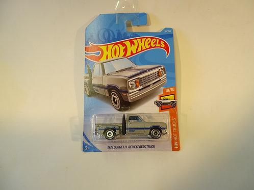 Hot Wheels '1978 Dodge Li'l Red Express Truck'