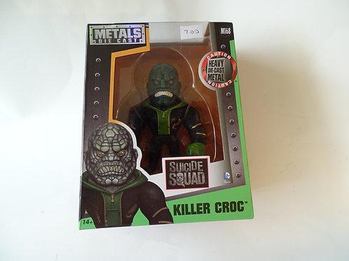 """Suicide Squad Killer Croc 4"""" metal figure"""