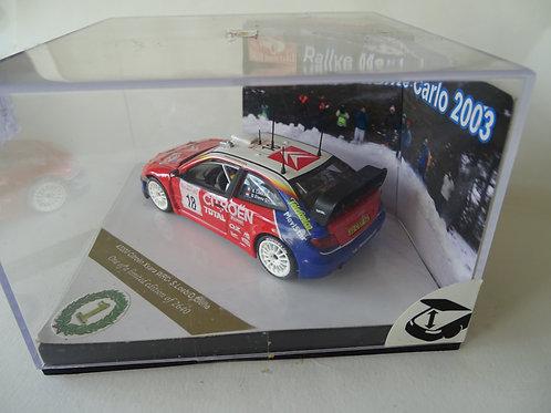 Citroen Xsara WRC 1st Rallye Monte Carlo 2003 model by Vitesse