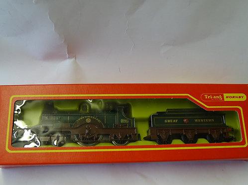 GWR 4-2-2 Loco - R354 by Tri-ang Hornby