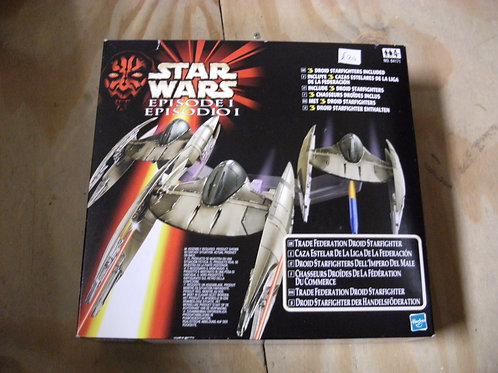 Star wars episode one droid fighter set by Hasbro