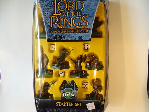 Lord of the Rings, Tradeable miniatures game. Starter set.