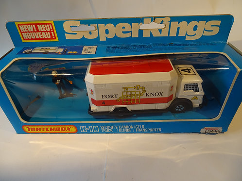 Security Truck 'Fort Knox' by Matchbox SuperKings