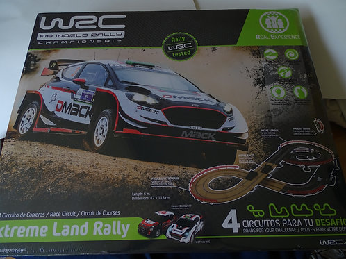 Scalextric WRC Extreme Land Rally 1:43 scale.