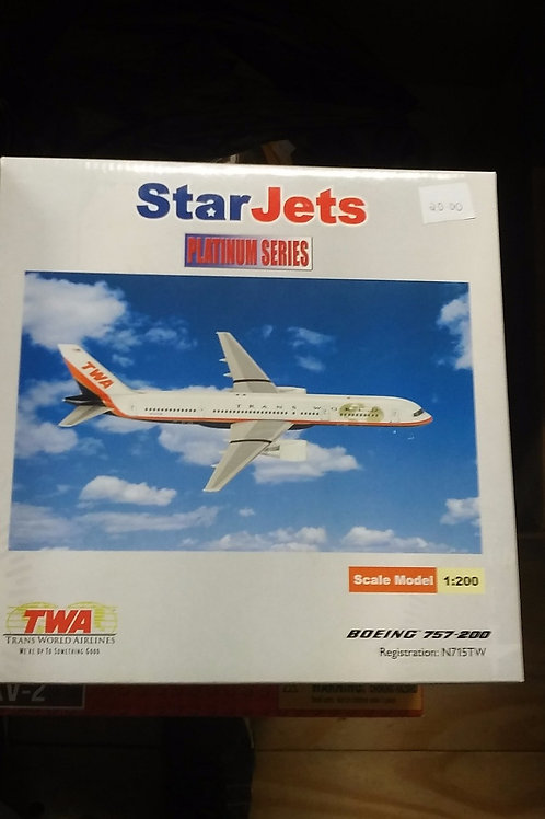 Star Jets Boeing 757 airliner