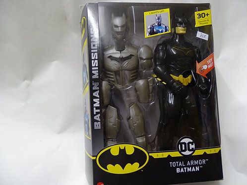 'Total Armor' Batman figure by DC Mattel