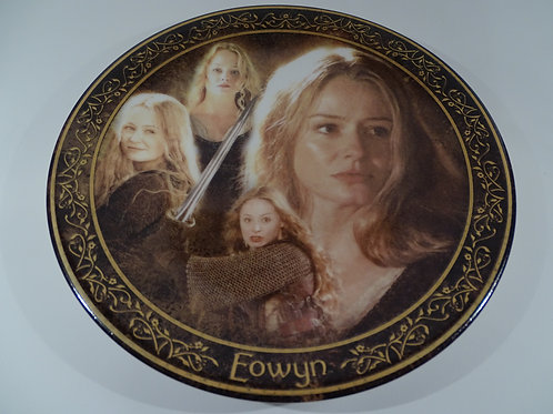 Lord of the Rings, Eowyn plate,  Limited Edition