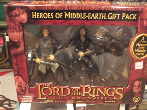 Lord of the Rings, Heros of Middle Earth.