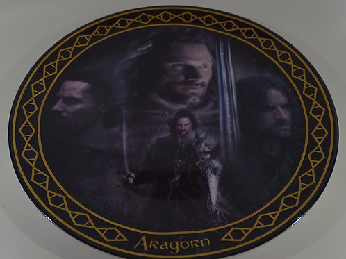 Lord of the Rings, Aragorn plate, Limited Edition