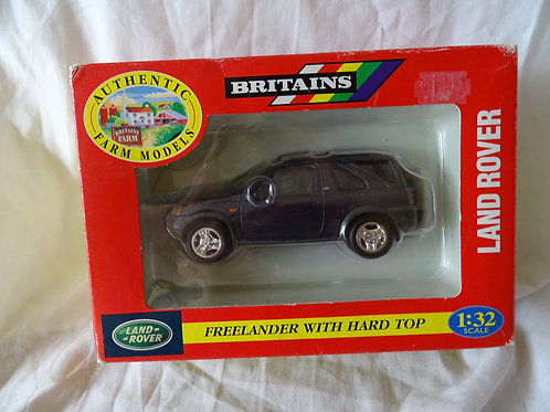 Landrover Freelander with hard top - Britains