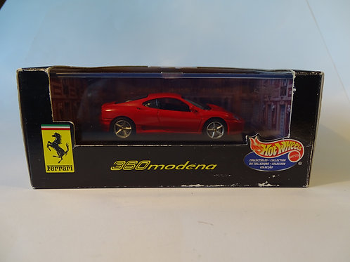 Hot Wheels Ferrari 360 Modena model.
