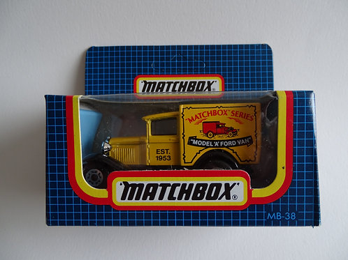 Matchbox Ford Model A van - boxed