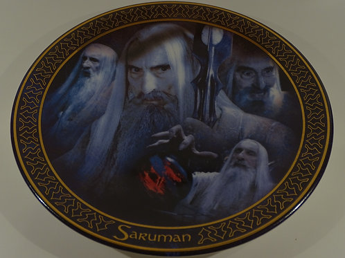 Lord of the Rings, Saruman plate, Limited Edition