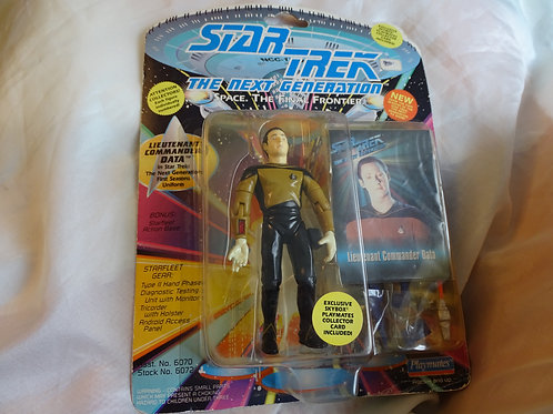 Commander Data 'The Next Generation' figure