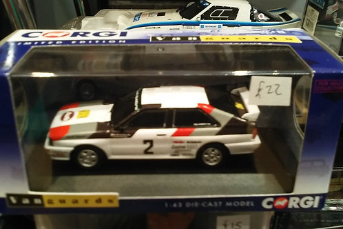 Corgi Audi Quattro rally car