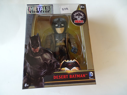 "Batman V Superman 'Desert Batman' 4"" metal figure"