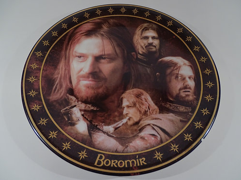 Lord of the Rings, Boromir plate, Limited Edition