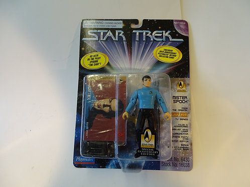 """Mister Spock 5"""" poseable figure by Bandai Playmates"""