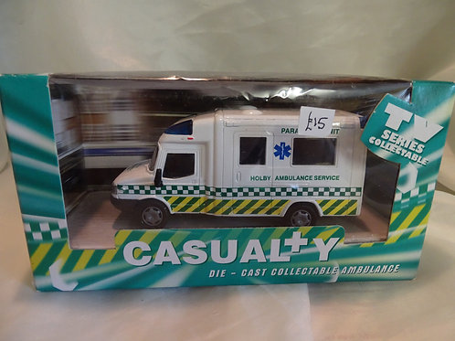 Ambulance from Casualty TV series
