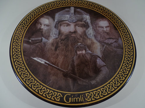 Lord of the Rings, Gimli plate, Limited Edition