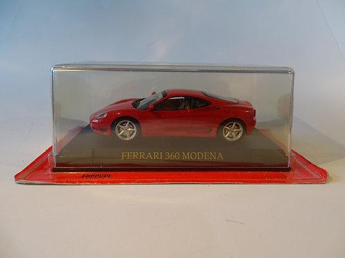 Ferrari 360 Modena diecast model