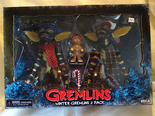 Gremlins Winter Gremlins 2 pack action figures by Neca
